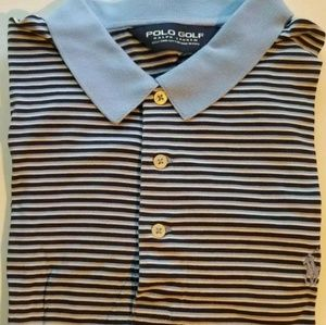 Polo Golf Ralph Lauren Striped Polo Shirt Size L